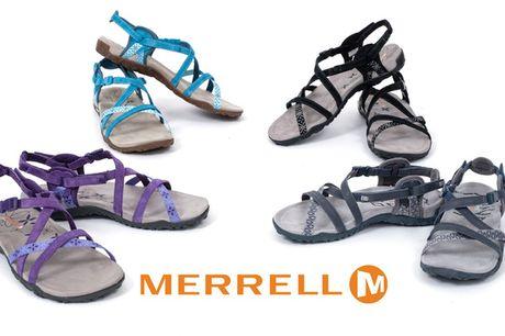 RESTSALG - Merrell-sko til kvinder. Giv dine fødder den støtte, de fortjener til sommer