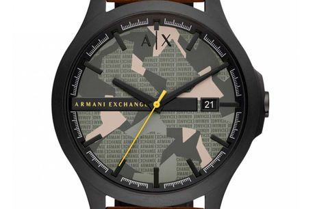 Armani Exchange Hampton AX2412. Ditur.dk er autoriseret forhandler af Armani Exchange. Det betyder at du er sikret ægtheden af dit ur samt har du får 2-års garanti. Alle vores Armani ure bliver sendt med original urboks og garantibevis Armani Exchange