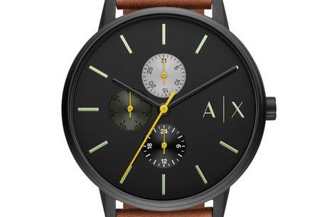 Armani Exchange AX2723. Ditur.dk er autoriseret forhandler af Armani Exchange. Det betyder at du er sikret ægtheden af dit ur samt har du får 2-års garanti. Alle vores Armani ure bliver sendt med original urboks og garantibevis Armani Exchange er et s