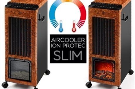 Climatizador Portátil com Frio, Calor, Ionizador, Anti-Mosquitos, Difusor de Aromas, Efeito Lareira e Comando por 112€. VER VIDEO. PORTES INCLUIDOS.