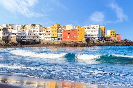 Spagna Tenerife - Hotel Puerto de La Cruz 4* a partire da € 75,00. Resort sull'isola vulcanica a pochi passi dal porto