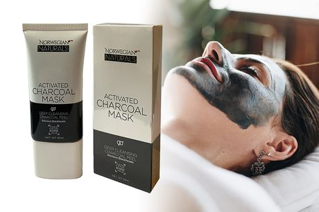 £3.99 instead of £9.95 for a 50ml activated charcoal peel-off mask from Norwegian Naturals - save 60%