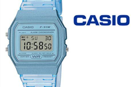 Relógio Casio® F-91WS-2EF por 37.49€ PORTES INCLUÍDOS