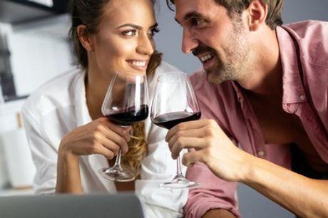 Online-Weinprobe für bis zu 6 Personen inkl. 5 Flaschen französischen Wein bei Baccys (55% sparen*)