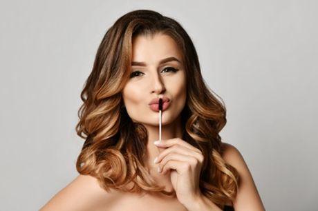 Maquillage semi-permanent des sourcils par microshading ou des lèvres à l'institut Beautés du Monde