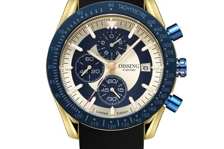 Dissing Chrono Gold/Blue/Black Limited Edition