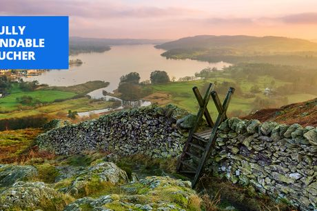 £99 -- Lake District: Windermere stay & prosecco, save 53%