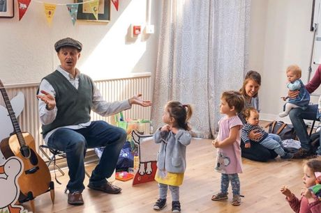 Storytelling with London Dreamtime at Samsung KX. What is it? Under threes need constant stimulation to keep them happy and content, and there are only so many times you can read the same baby book before you start to go slightly crazed