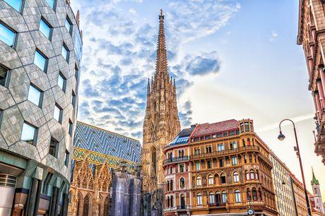 Rejse til Wien. Oplev Europas elegance i fantastiske Wien på denne rejse inkl. 2-5 overnatninger på 4-stjernet hotel med morgenmad. Fly fra Billund eller København.
