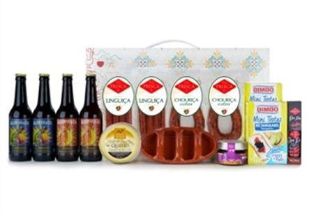 CABAZ HÉRCULES da Casa da Prisca: Caixa Padrão Portugal composta por 14 Deliciosos Produtos por 45€. PORTES INCLUÍDOS.