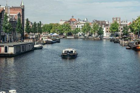 Rondvaart van 60 minuten incl. onbeperkt drankjes door Amsterdam met Mondo Cruises