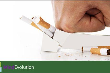 Vejen til et røgfrit liv starter her - Røgfri nu - Digital rygestoppakke med 3 x sessions og en E-bog. Værdi kr. 399,-