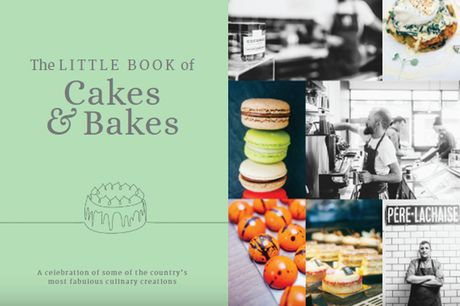 £9 instead of £15 for The Little Book of Cakes & Bakes - celebrate some of the country's most fabulous culinary creations and save 40%