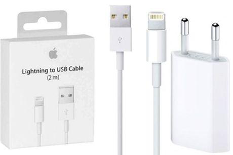 Apple Lightning® kabel 2 meter en oplader, inclusief verzending