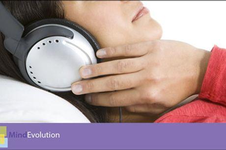 Effektivt redskab til selvhjælp - Reducer stress med en Digital meditations startpakke fra MindEvolution. Værdi kr. 396,-