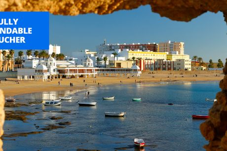£129pp -- Andalucia: 4-star beach stay with meals, save 44%