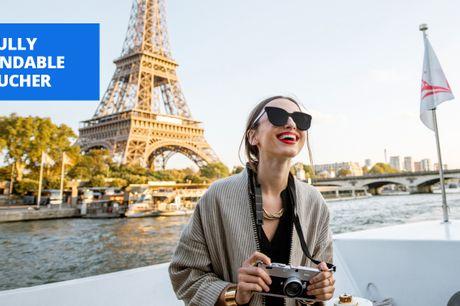 £11 -- Paris: guided Seine cruise, into 2022