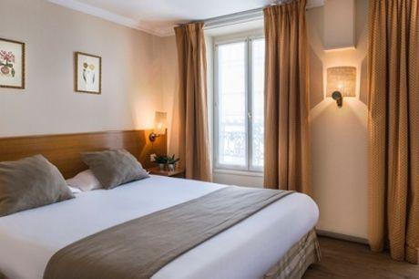 Paris : chambre Double avec petit-déjeuner et verre de bienvenue pour 2 personnes, à l'hôtel Axel Opéra