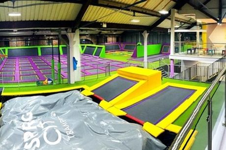 One-Hour Trampoline Access for Up to Four at Spring City Liverpool (Up to 27% Off)