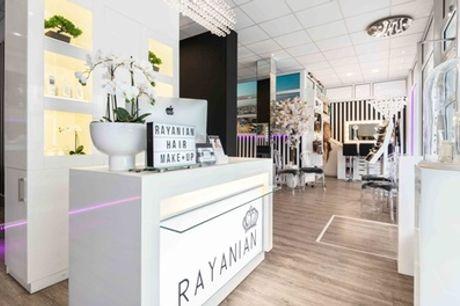 Damen- o. Herrenhaarschnitt, alle Längen, opt. mit Olpaplex bei Rayanian Haare und Make-up (bis zu 64% sparen*)