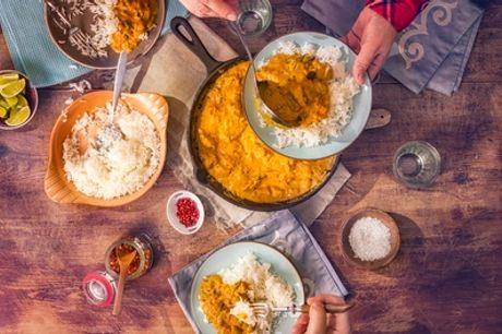 Indisches 3-Gänge-Menü für 1, 2 oder 4 Personen bei Manjodh Indisches Restaurant (bis zu 42% sparen*)