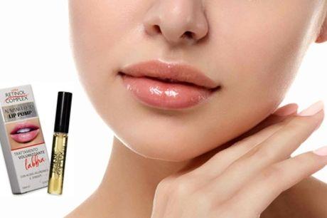 Tratamiento volumizador para labios con ácido hialurónico