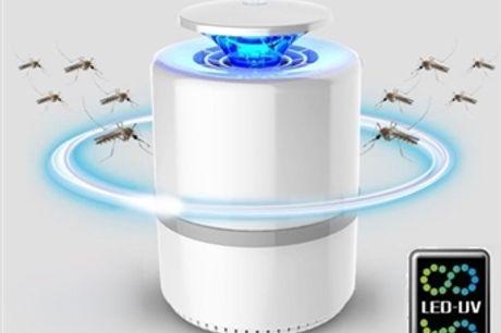 Lâmpada Mata Mosquitos 360º com Luz LED-UV por 12€. Inofensivo e Inodoro. PORTES INCLUÍDOS.