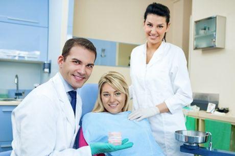 Visita odontoiatrica con igiene orale, controllo carie e sbiancamento Led. Valido in 2 sedi