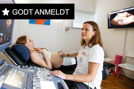 3D- eller kønsscanning. Følg din babys udvikling - gælder i Lyngby og København
