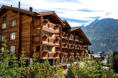 Svizzera Saas-Fee - Hotel Schweizerhof Saas-Fee 4* a partire da € 209,00. Ospitalità, natura & Spa nel Canton Vallese