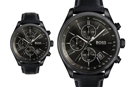 £149 instead of £299 for a men's Hugo Boss Grand Prix Chronograph watch 1513474 from MMA Fashion Ltd - save 50%