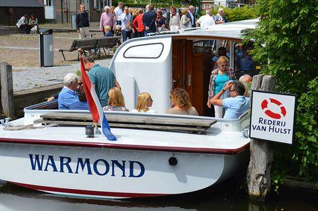 Zomer-Herfst cruise vanuit Katwijk Duur rondvaart: 3 uur<br /> Vertrek vanaf Katwijk aan Zee<br /> Geldig t/m 3 oktober 2021