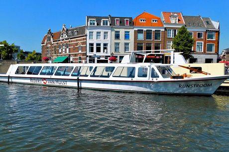 Rondvaart Leiden & omgeving Kies voor deze leuke rondvaart rondom Leiden en omgeving. Vanuit centrum Leiden vaar je over de 'Zijl' naar één van de mooiste vaargebieden van het land: de Kagerplassen!