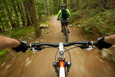 Mountainbiken door de Ardennen Of je nu fietservaring hebt of niet. Een gave mountainbike route door de Ardennen is een echte aanrader! Na een korte uitleg kun je zelf de prachtige bospaden ontdekken.