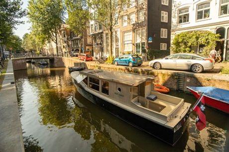 Amsterdam Private Boat Tour: privé rondvaart van 75 of 165 minuten voor max. 8 personen door onze hoofdstad