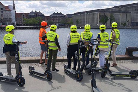 Guidet sight-seeing tour på EL løbehjul - 2 timers guidet tur til Københavns seværdigheder på et el-løbehjul for 1 person. Værdi kr. 350,-