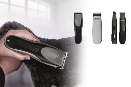 From £5.99 instead of £11.99 for a Wahl pet grooming trimmer - save up to 50%