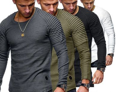 £8.99 instead of £19.99 for a men's long sleeve top from Domo Secret – save 55%