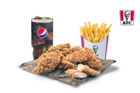 Menú KFC a elegir para 2 personas, válido solo para el Drive Thru,