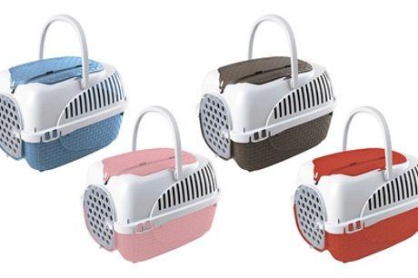 Transportín para mascotas  de hasta 5 kg de la marca Bama