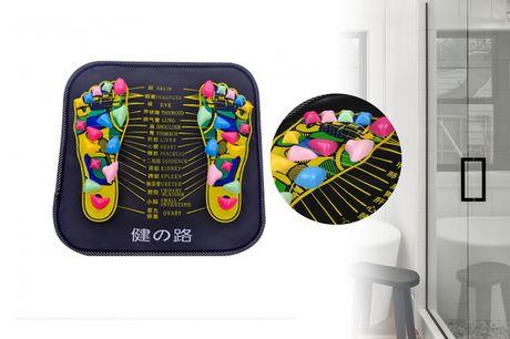 £5.99 instead of £29.99 for a reflexology foot massager mat from Benzbag - save 80%