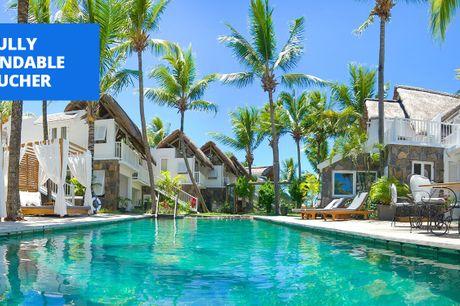 £755pp -- Mauritius: luxury beachfront week w/meals, 63% off