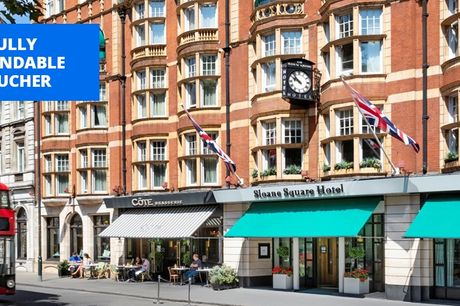 £99 -- London: Chelsea hotel stay with breakfast, save 63%
