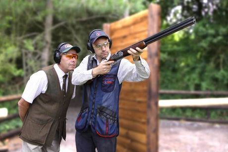 £47.50 for a 90-minute clay pigeon shooting experience for one at Adventure 001. £94 for two people - choose from nine locations