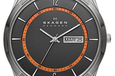 Skagen Melbye SKW6007. Skagen ure er designet i en klassisk og tidsløs stil. I vores udvalg kan du både finde Skagen ure til dame og herre, som omfatter funktionelle ure samt stilfulde smykkeure til en fornuftig pris Du får et særdeles velfungerende