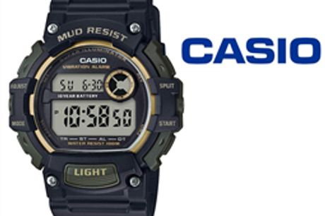 Relógio Casio® TRT-100H-1A2VCF por 56.76€ PORTES INCLUÍDOS