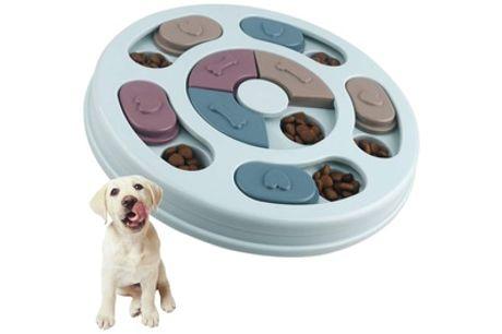 1 o 2 Puzzles interactivos para perros con dispensador de premios (envío gratuito)