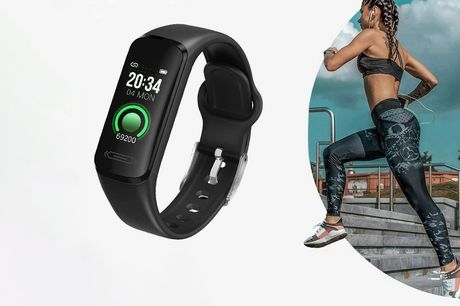 £19.99 instead of £99.99 for a waterproof fitness tracker watch from Wish Whoosh Offers - save 80%