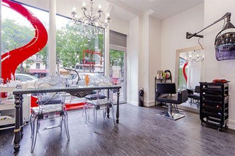 Shampoing, coupe et brushing avec en option couleur racines au salon Salon Nely's