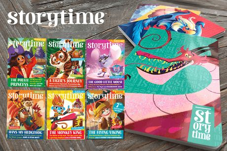 £9.99 instead of £26.98 for a six-month Back to School subscription of Storytime Magazine, with a notebook - save 63%